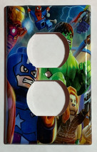 Lego Super hero Hulk Spiderman Light Switch Outlet wall Cover Plate Home decor image 3