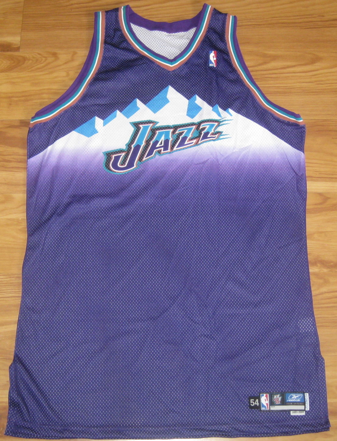 4d678a7bc46 Utah Jazz Authentic Reebok Jersey 54 +5 and 50 similar items. S l1600