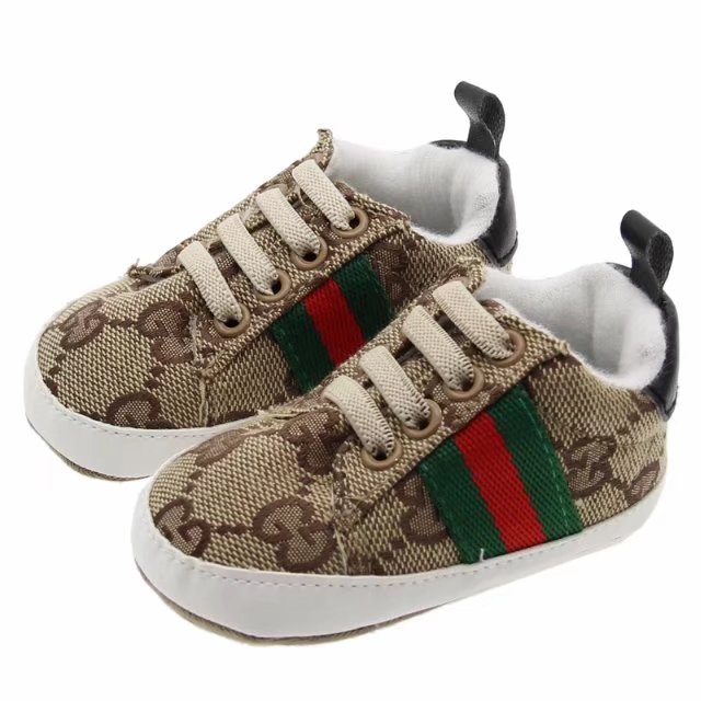 Brown Unisex Baby Soft Bottom Indoor Shoes 0-18 Months Walking Shoes G393 image 3