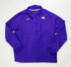 Nike LSU Tigers Team Therma Midweight Jacket Men's Large Full Zip CI4472... - $28.96