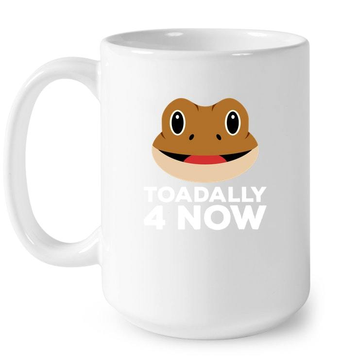 Toadally 4 Now 4th Birthday For Kids Gift Coffee Mug