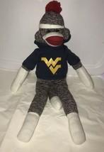 "PLUSHLAND 2013 Soft Stuffed Hoodie SOCK MONKEY Plush/Toy 21"" - $8.10"