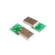 USB2.0 Male to 4P DIP switch DIP adapter board module USB adapter plate ... - $2.72