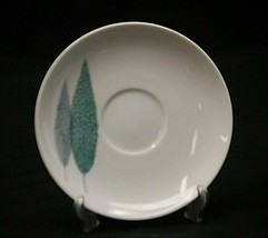 "Namiki by Noritake 5-7/8"" Saucer Plate Cook 'n Serve Casual Leaves Atomic MCM - $8.90"