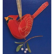 Hallmark BEAUTY OF BIRDS #1 NORTHERN CARDINAL 2005 Ornament QX2135 - $327.21