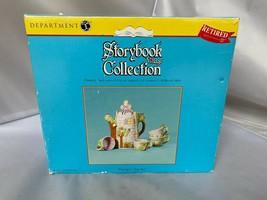 Department 56 Storybook Village Collection Rapunzel Tea Set 6 piece set ... - $98.95