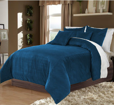 Hotel Collection Bedding,100% Duvet Quilt Cover set 3pc - Teal - $92.72+