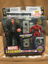 MARVEL LEGENDS 2006 Arch-Enemies KINGPIN VS. DAREDEVIL Face-Off Black SU... - $89.13