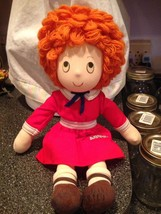 "Vintage 1982 LITTLE ORPHAN ANNIE DOLL Rag Doll Applause 15"" Rare Collect... - $18.99"