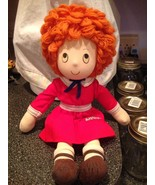 """Vintage 1982 LITTLE ORPHAN ANNIE DOLL Rag Doll Applause 15"""" Rare Collect... - $18.99"""