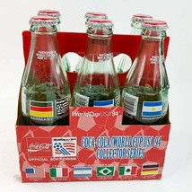 Vintage 1994 Coca-Cola World Cup  6 Pack Collector Series - $44.55