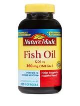 Nature Made FISH OIL 1200 Mg (360 Mg OMEGA-3 EPA DHA ) 200 Count Liquid ... - $13.98