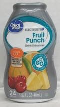 Great Value Electrolyte Fruit Punch Liquid Water Drink Enhancer 1.62 oz - $4.94