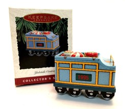 Hallmark 1995 Yuletide Central Keepsake Ornament Candy Car 2nd Collector... - $6.92