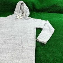 Forever 21 Women's Plush Jersey Heather Grey Pocket Hoodie Dress Size M EUC - $14.85
