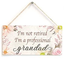 Meijiafei I'm not retired I'm a professional grandad - Beautiful Sign Cu... - $12.86