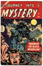 JOURNEY INTO MYSTERY #17-Atlas-Horror-Pre-Code-Marvel-NICE COPY! - $775.27
