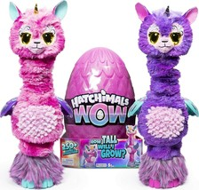 Hatchimals WOW Llalacorn 32-Inch Tall Interactive Re-Hatchable Egg (Vary Styles) - $83.49
