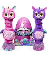 Hatchimals WOW Llalacorn 32-Inch Tall Interactive Re-Hatchable Egg (Vary... - $83.49