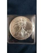 2016 1 oz silver american eagle coins - $43.00