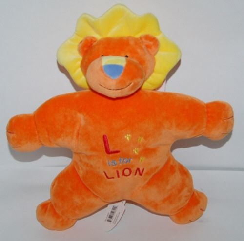 Mary Meyer Baby 52820 Gentle Jungle Soft Toy Orange Lion