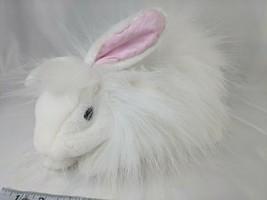 "Folkmanis Angora Rabbit Hand Puppet Plush 12"" White Stuffed Animal Toy - $29.95"