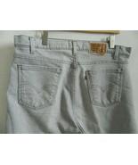 Levis 540 Mens Vintage Gray Flex Denim Signature Jeans Size 38 X 28.5 US... - $31.99