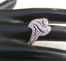 Indian American Diamante Fashion Jewelry Bollywood Party wear Ring Golde... - $6.64