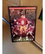 San Francisco 49s run & gun Steve young card - $28.99