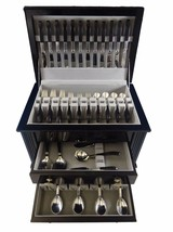 Contrast by Lunt Sterling Silver Flatware Set Service 65 Pieces - $6,800.00
