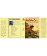 Edgar Rice Burroughs THE WAR CHIEF facsimile jacket 1st Grosset edition - $21.56