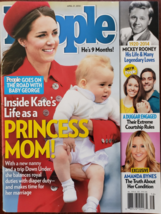 Princess Kate as Mom to Babay George, Mickey Rooney @ People Magazine Ap... - $5.95