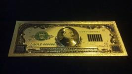 GOLD U.S $1,000 Banknote Rep.*U.S SHIPPE - $5.50
