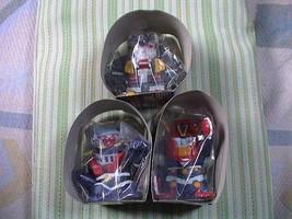 Super Robot Wars Lucky Charm Piggy Bank all 3pcs set collection A48   - $420.00