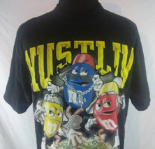 M And Ms Hustlin 3 Deep Mens XL T Shirt Black Tee Dream USA Cotton Hip Hop - $14.84