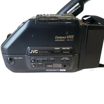 JVC GR-AX7 Compact VHS-C Video Movie Camera Camcorder with soft bag - $74.41