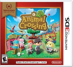 Nintendo Selects: Animal Crossing: New Leaf - Nintendo 3DS - $37.99