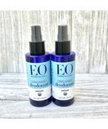 2 EO Essential Oils Organic Deodorant Spray Vetiver 4fl oz Each - $27.71