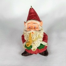 Hallmark 1989 Old World Gnome Keepsake Ornament Christmas Santa - $2.99