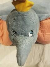 Dumbo the Elephant Disney Parks Original Authentic Pillow Pet Plush EUC ... - $35.27