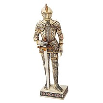Knight of the Realm Knight with Sword Medieval Decor Tabletop Soldier De... - $73.25