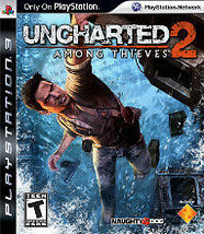 Uncharted 2: Among Thieves (Sony PlayStation 3, 2009) - $7.70