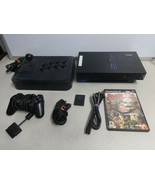 Vintage PlayStation 2 PS2 Original Fat SCPH-30001 Console System W/ Figh... - $79.19