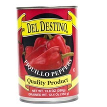 Whole Piquillo Peppers (Roasted Red Peppers) - 6 cans - 5.5 lbs ea - $162.73