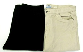 Old Navy Women's 16 Stretch Dress Pants & Corduroy Pants Tan & Black Lot... - $22.99