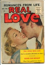 Real Love #76 1956-Ace-rare final issue-photo cover-killed by Comics Cod... - $87.30