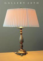 SWEET! MID CENTURY MODERN QUEEN ANNE BRONZE DESK LAMP! INTERIOR DESIGN V... - $750.00