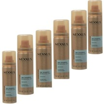 NEW 6 PK NEXXUS Dry Shampoo Travel Size Refreshing Mist Unscented 1.15 oz each - $9.39