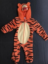 Disney Baby Tigger Infant Costume Size 3-6 months Full Zip With Hood -AU - $249,21 MXN