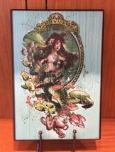 Disneyland Resort Exclusive Wood Sign Sailor Beware Mermaids BRAND NEW In BOX - $339.49